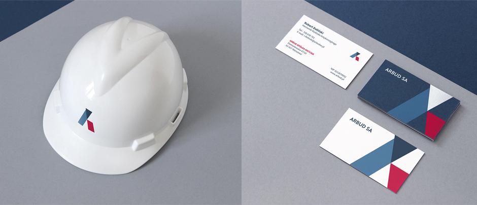 Логотип строительной компании, каска с логотипом