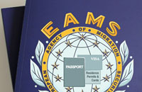 Разработка логотипа организации EAMS
