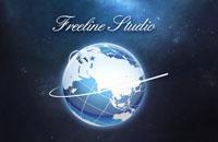Логотип для киностудии Freeline Studio