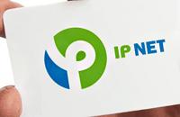 Редизайн логотипа для компании провайдера IPNET