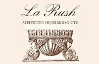 Дизайн визитки. Агентство недвижимости La Rush.