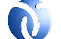 3d визуализация логотипа новостного сайта