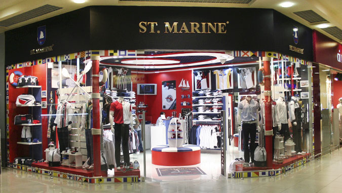 Фирменный стиль бутика одежды Fashion Group