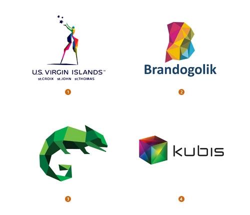 Актуальные стили логотипов