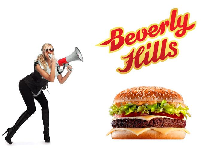 Создание логотипа ресторана Beverly Hills