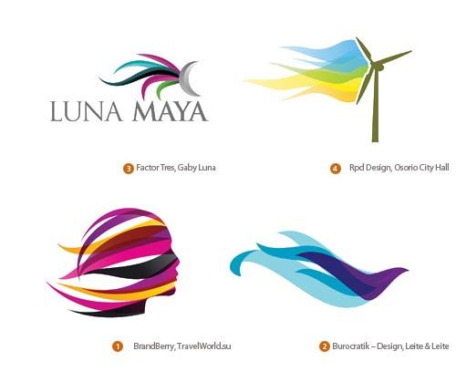 современный дизайн логотипов 2010