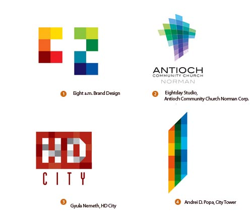 направления разработки логотипов
