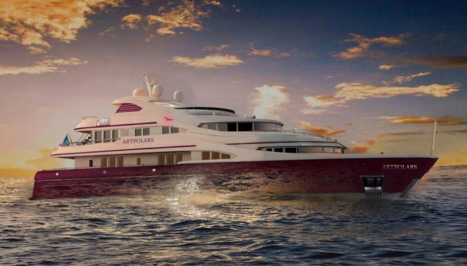 создание фирменного стиля яхты