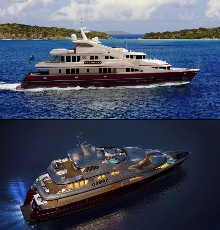 Фирменный стиль яхты