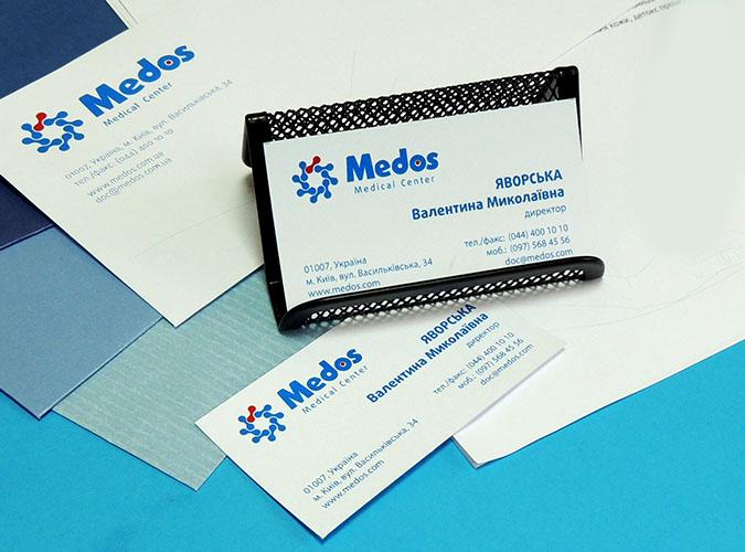 Брендбук фирменный стиль медицинской клиники, изготовление фирменного стиля