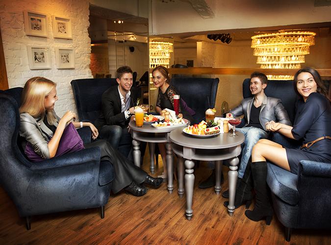 Разработка фирменного стиля организации, создание фирменного стиля кафе