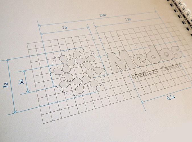 Создание логотипа медицинской клиники, изготовление логотипа медицинской организации