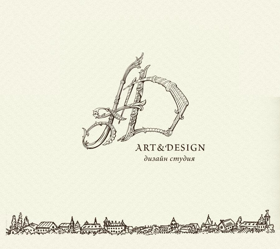 Дизайн логотипа, логотип студии дизайна, разработка логотипа фирмы