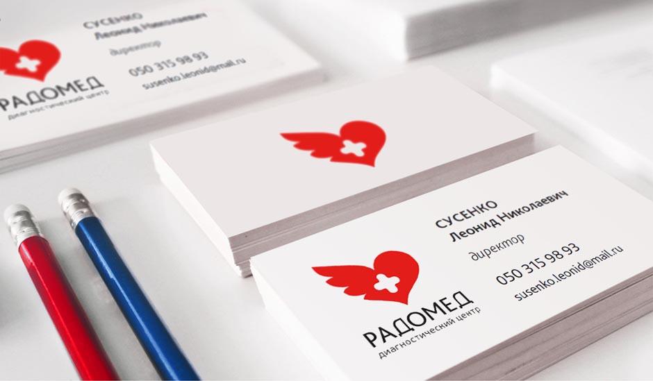 Разработка названия и фирменного стиля медицинского центра