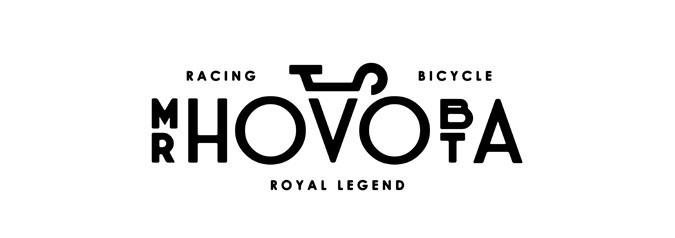 оригинальный шрифтовой логотип