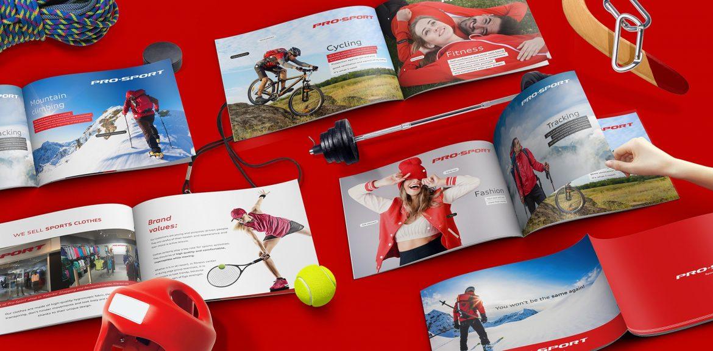 разработать презентацию prosport presentation спорт презентация для торгового центра спортивной компании
