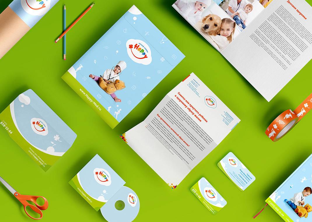 Kid's medical center logo design, Дизайн логотипа детского медицинского центра