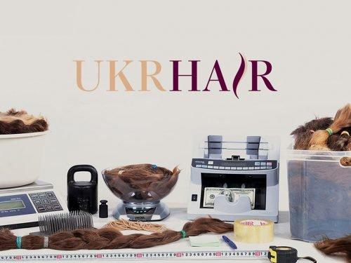 Продажа волос создание логотипа, Hair sales logo development