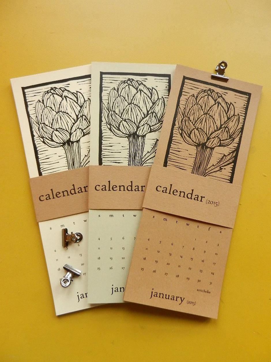 Разработка креативного дизайна календаря 2017