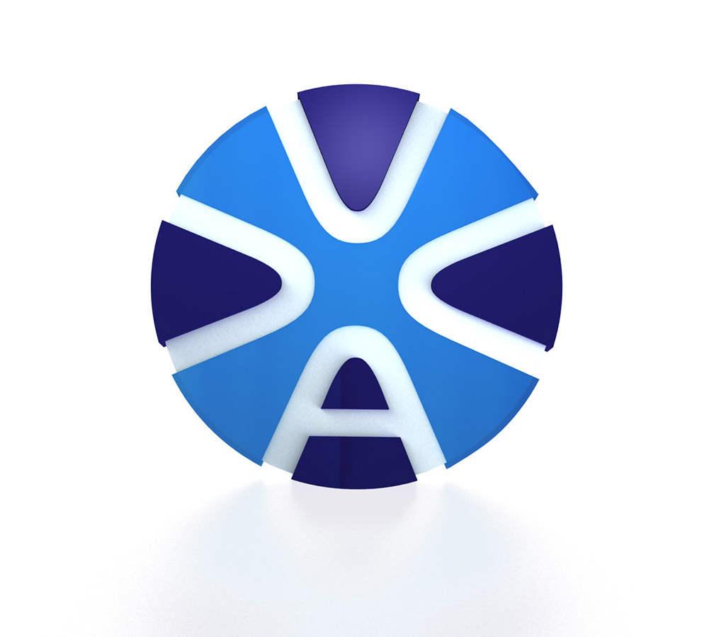 3d визуализация логотипа автомобильной компании