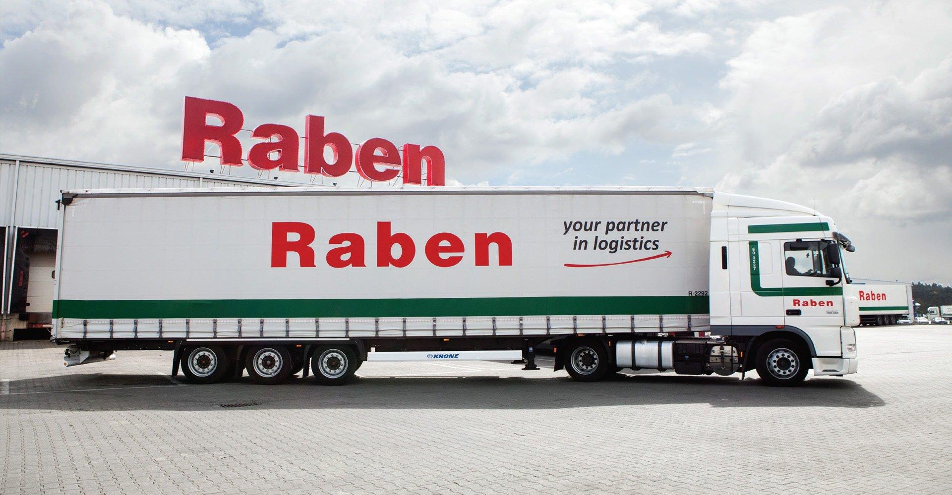 Дизайн логистической компании «Raben»