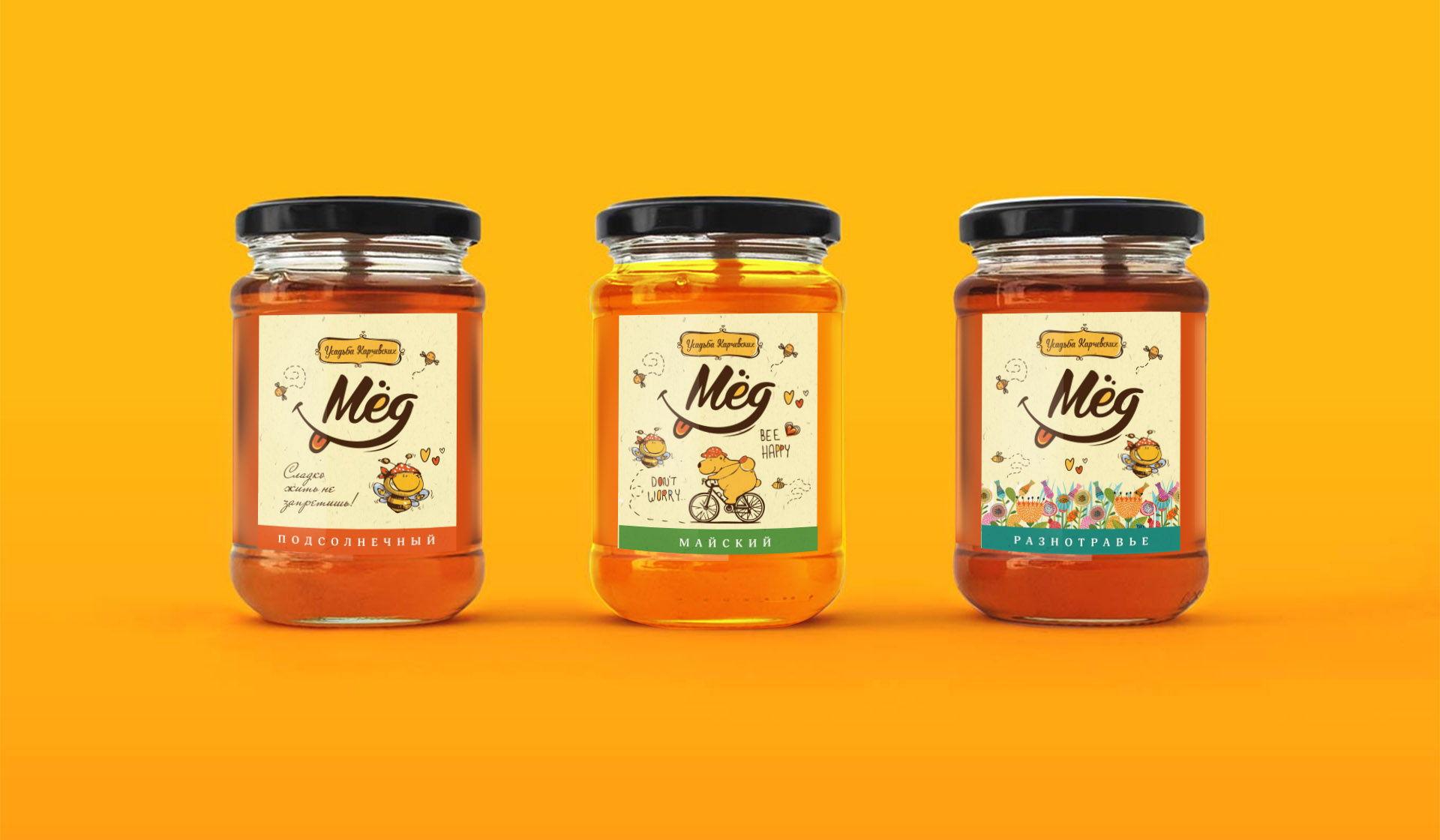 разработка этикетки и упаковки для меда
