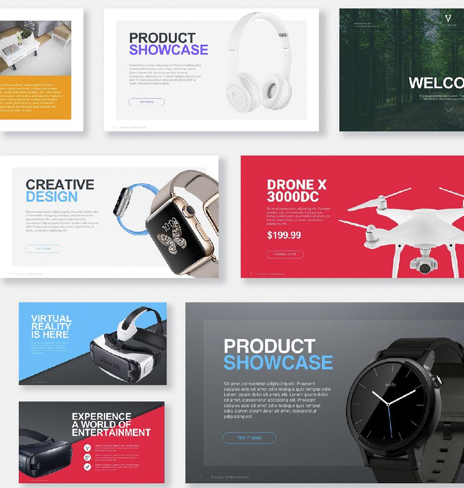 презентация продукта компании