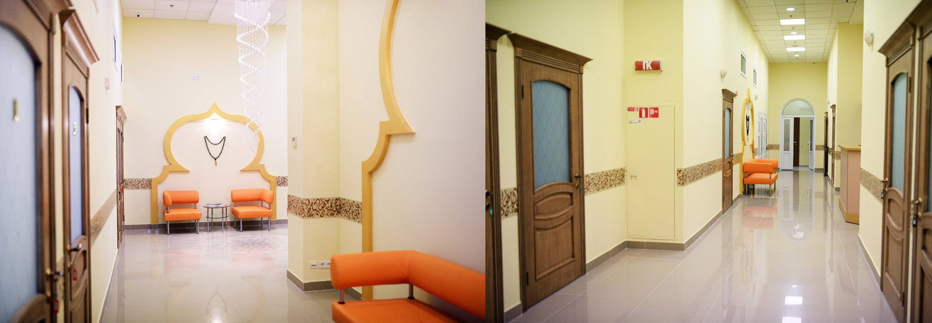 Дизайн интерьера медицинского центра Medical center interior design