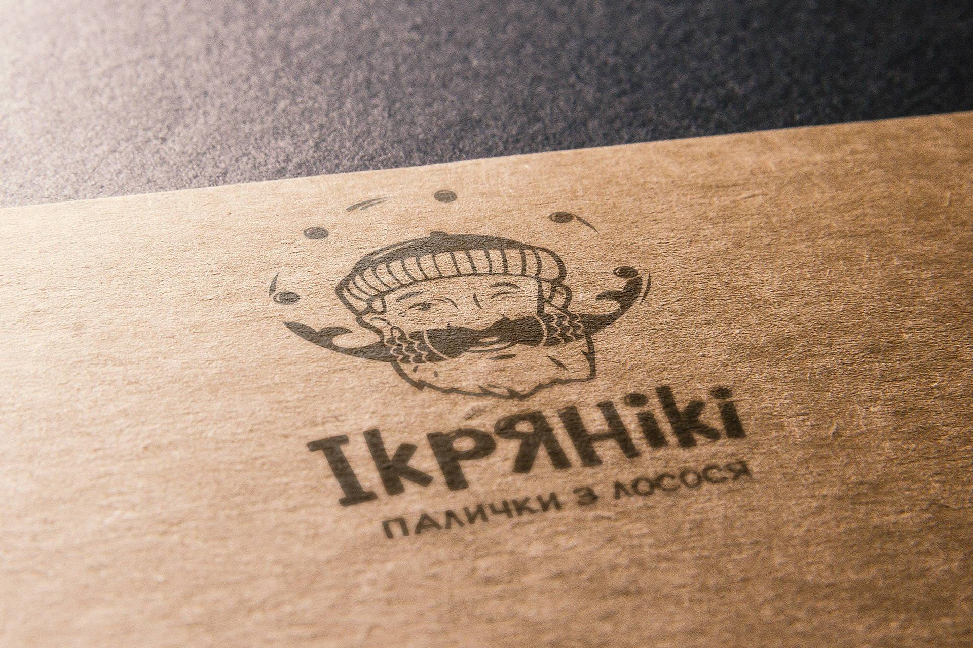Разработка логотипа снеки