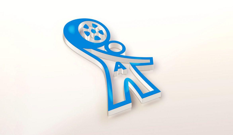 Автомобильный логотип 3D