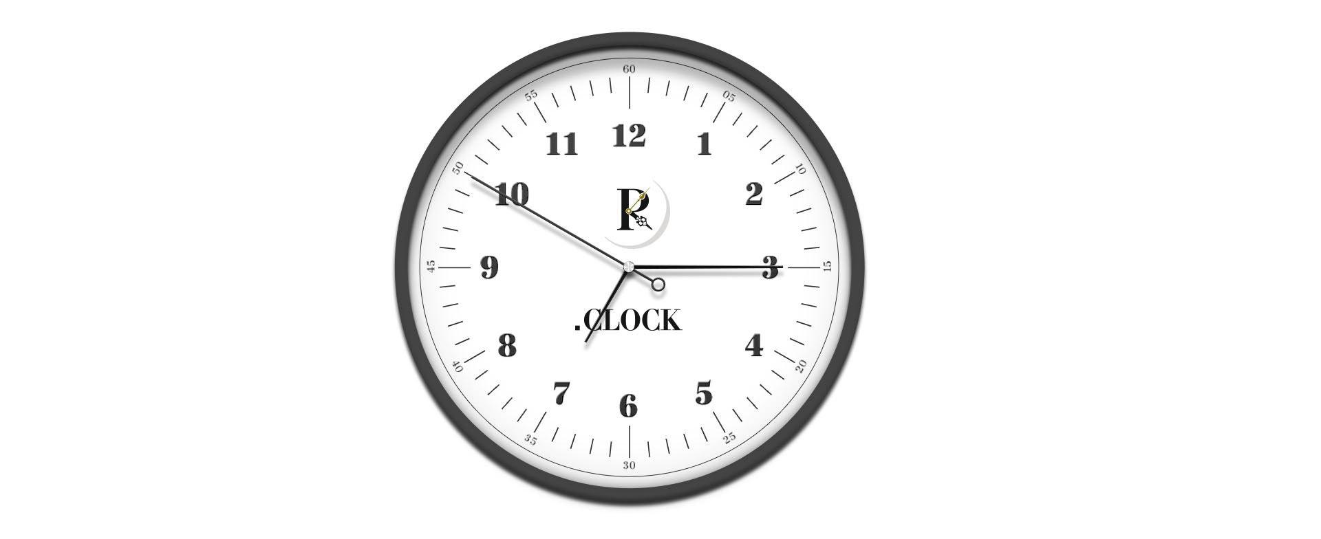 Создание логотипа магазина часов