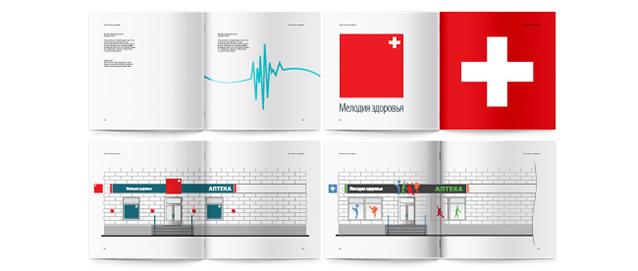 Разработка брендбука аптечной сети