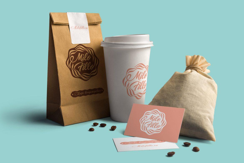 Логотип для кофейни, Cafe logo