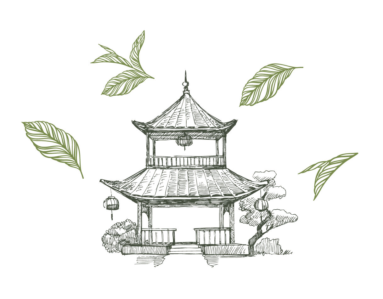 Дизайн этикетки для чая, Tea label design