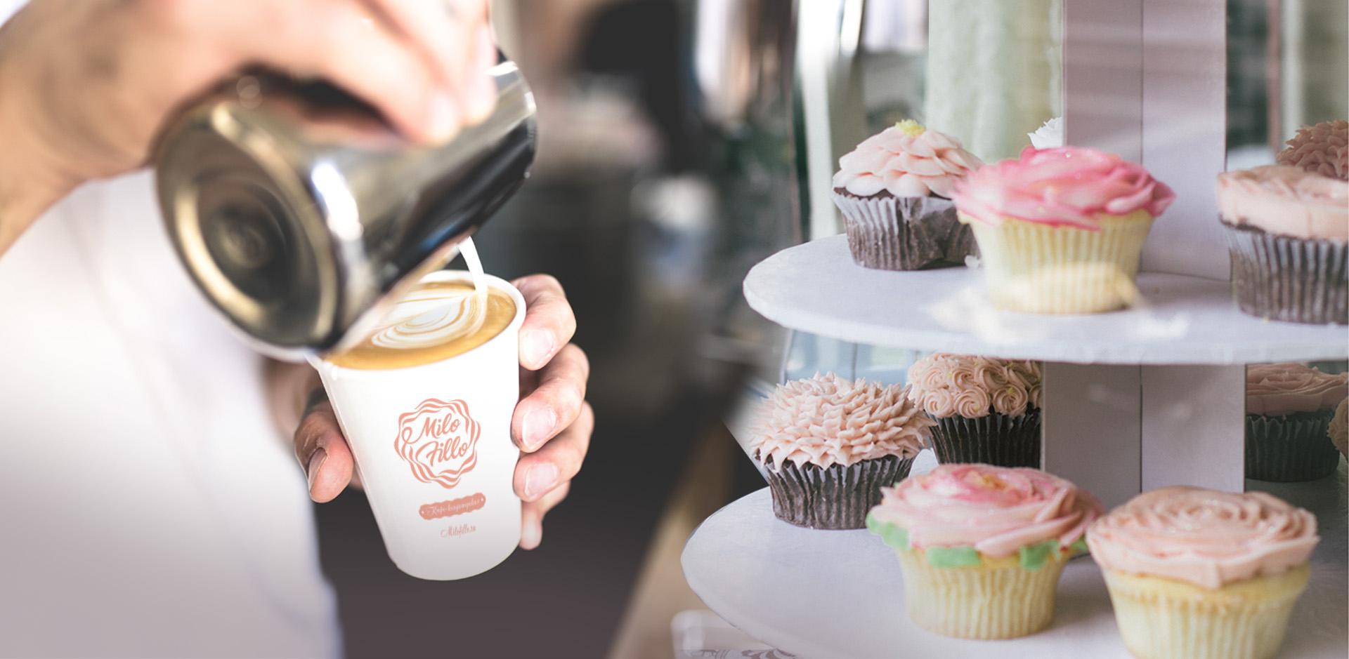 Дизайн логотипа кофейни, Cafe logo design
