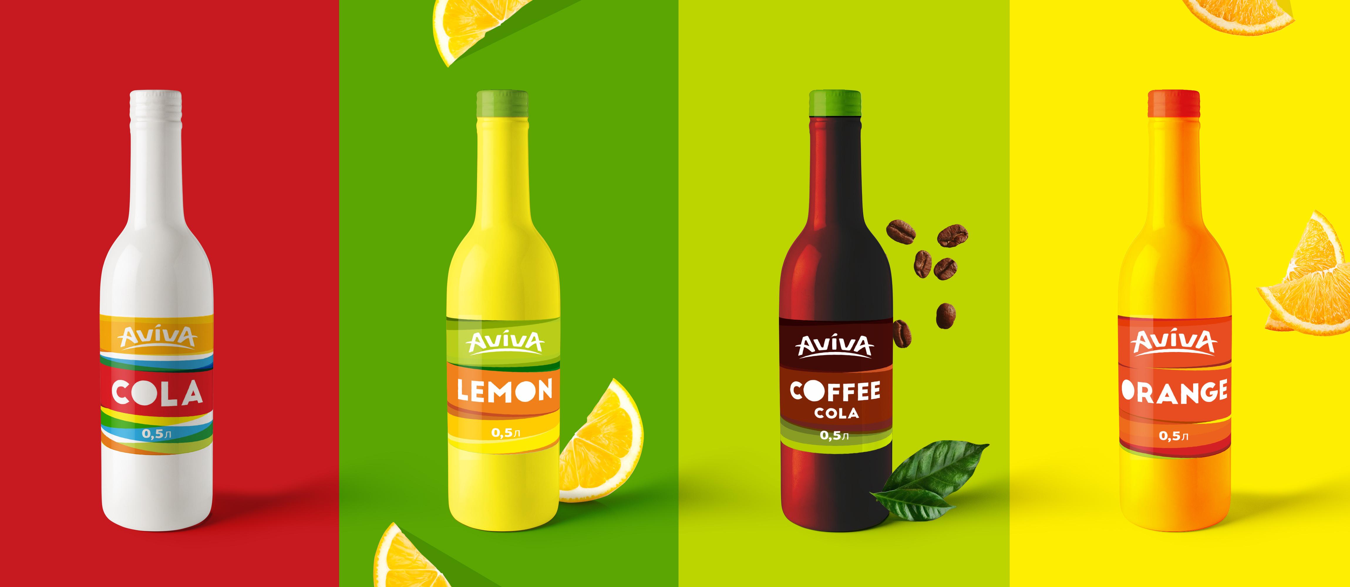 Дизайн этикетки для сладкой газированной воды, Label design for sweet soda