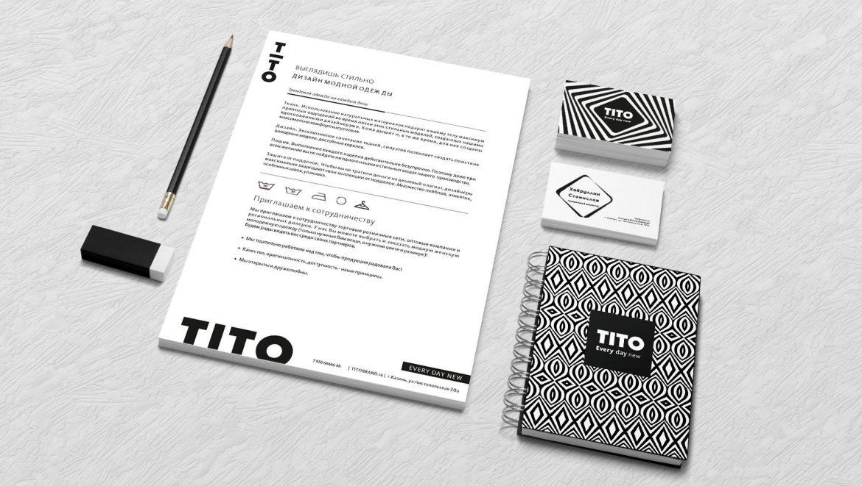 Разработка фирменного стиля для бренда одежды, Clothing brand corporate identity