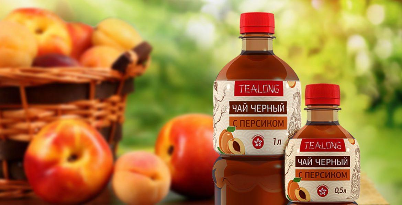 Дизайн бутылки и этикетки для холодного чая, Ice tea bottle and label design