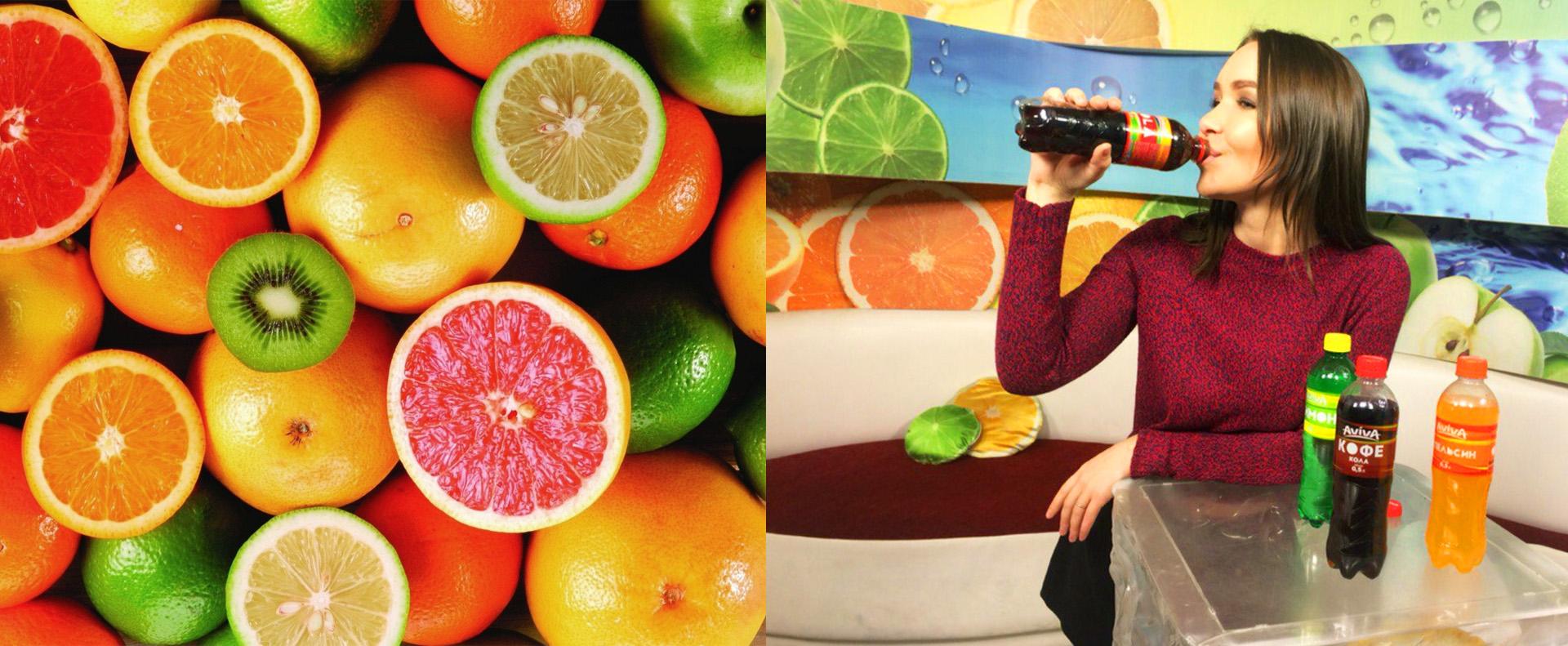 Soda label design, дизайн этикетки лимонада