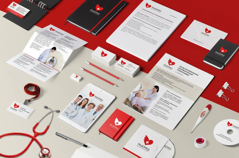 Разработка логотипа медицинской клиники, Medical clinic logo development