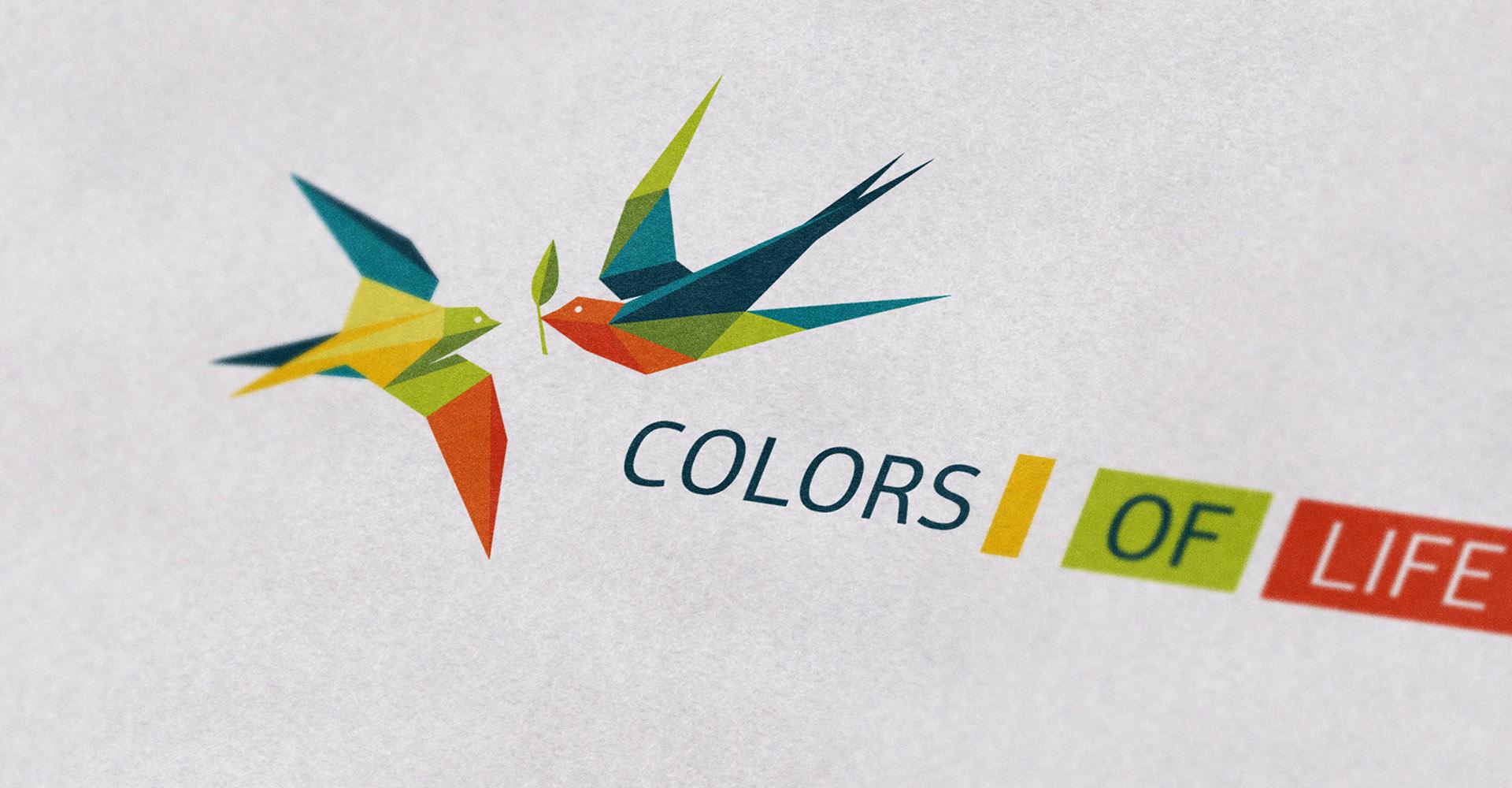 Яркий логотип общественной организации