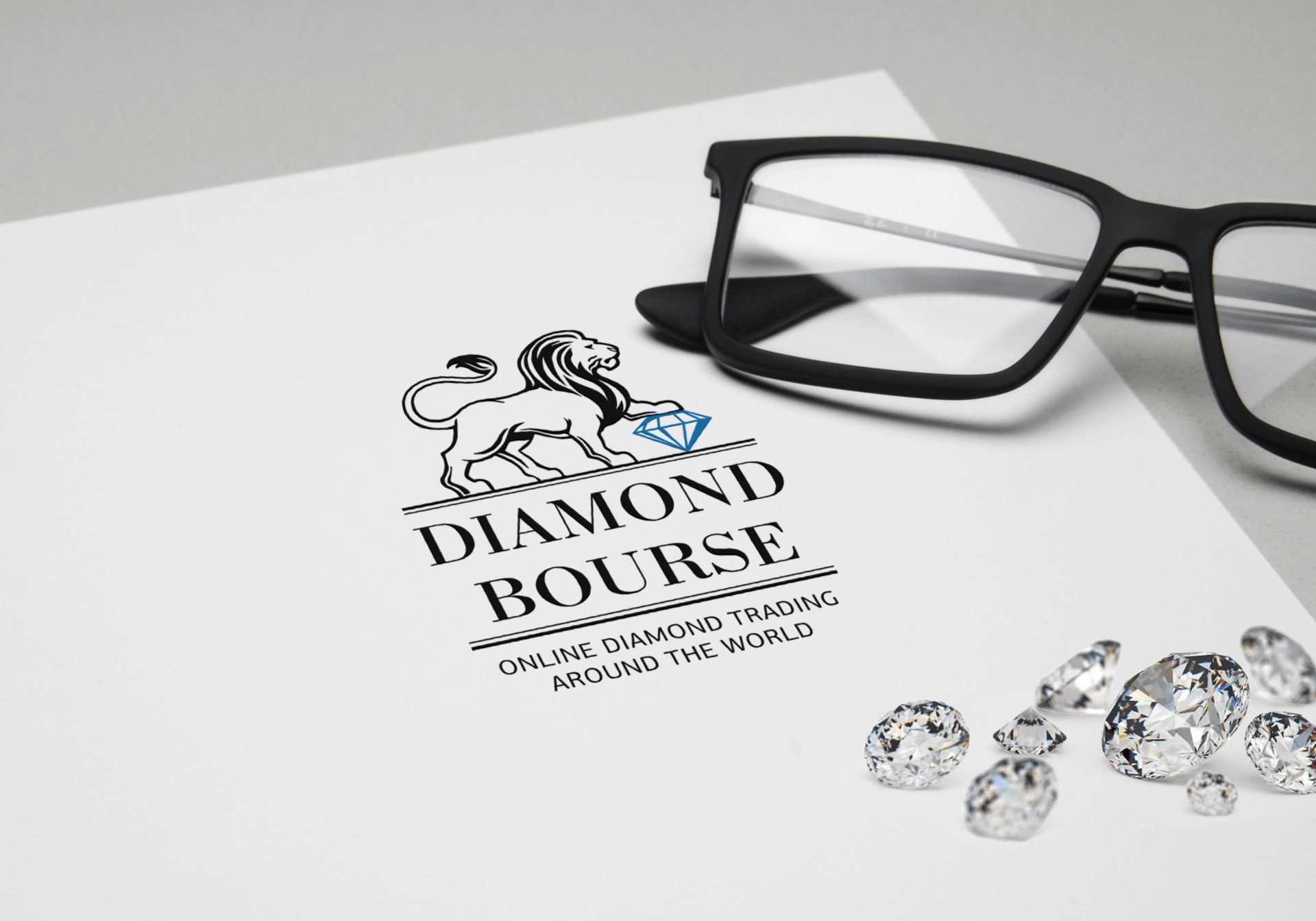 Продажа драгоценных камней логотип