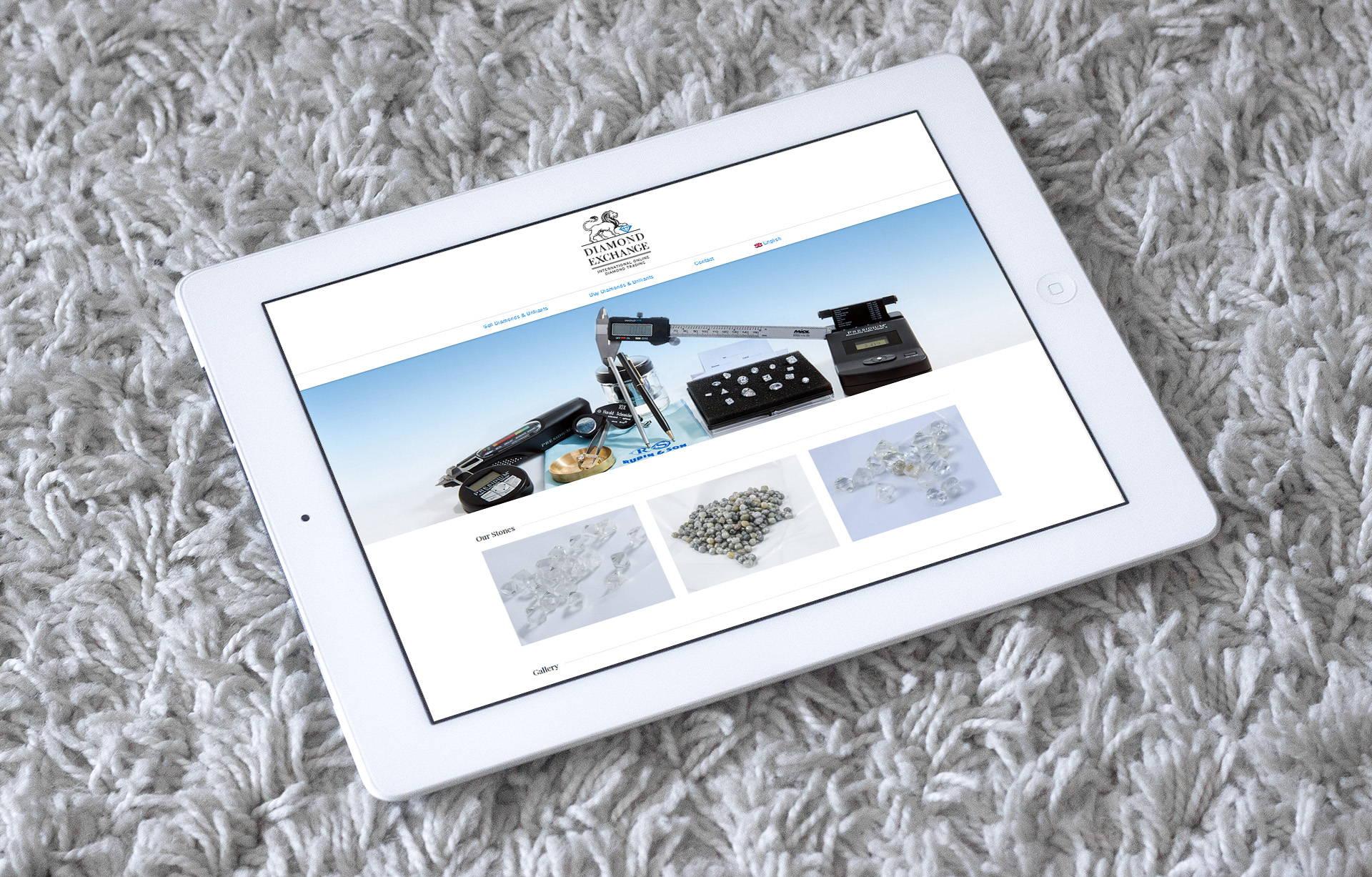 Дизайн сайта магазина драгоценных камней