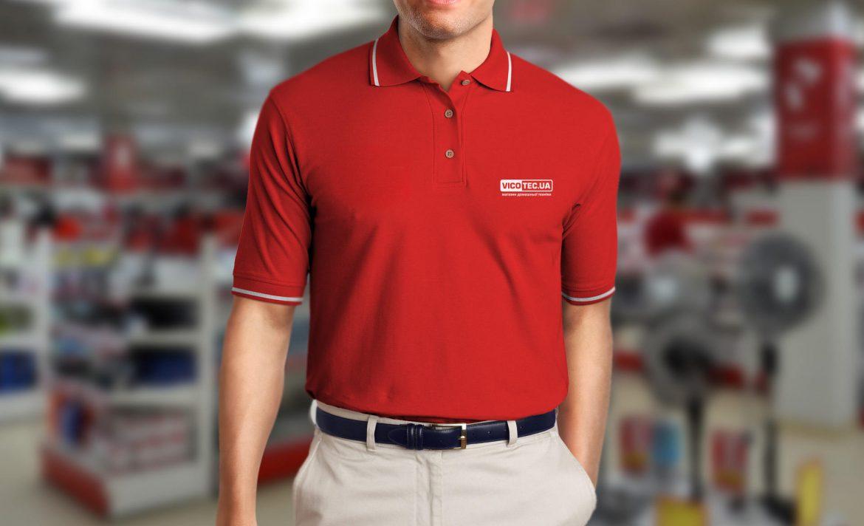 Дизайн корпоративной одежды для магазина бытовой техники