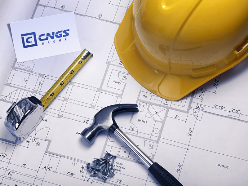 Разработка логотипа для агентства недвижимости, строительной компании
