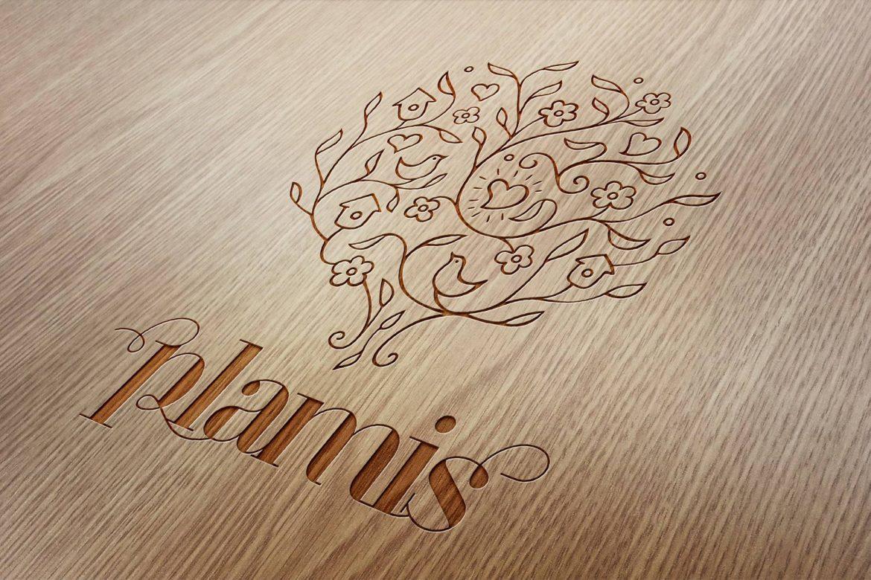 Дизайн логотипа магазина свечей, Candle shop logo design