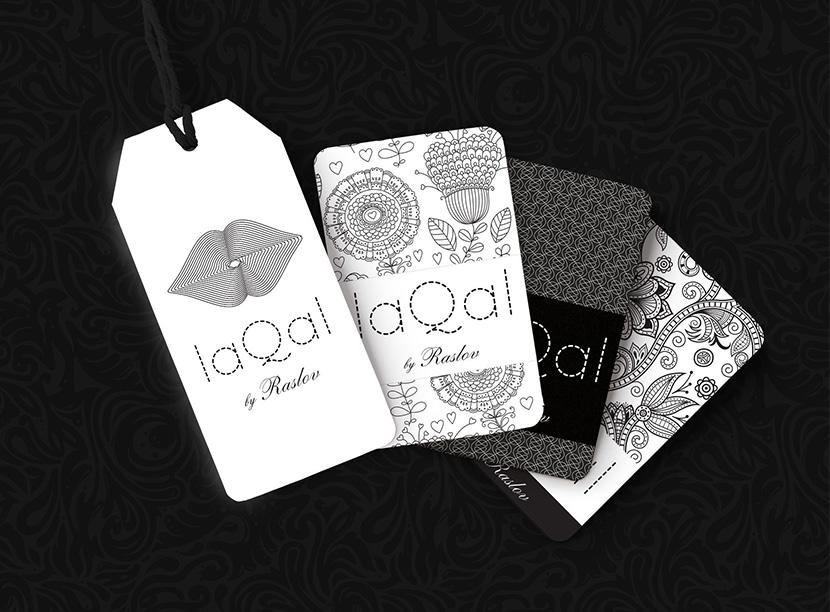 бренд одежды LaqaL нейминг, разработка логотипа