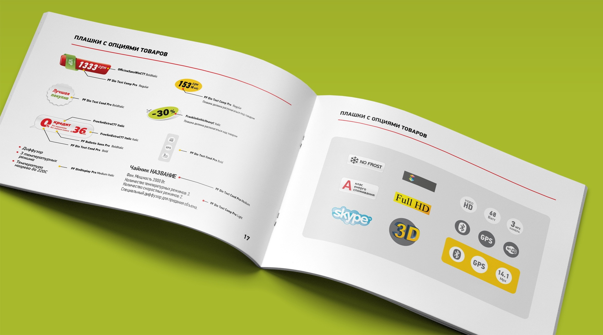 Брендбук каталога бытовой техники