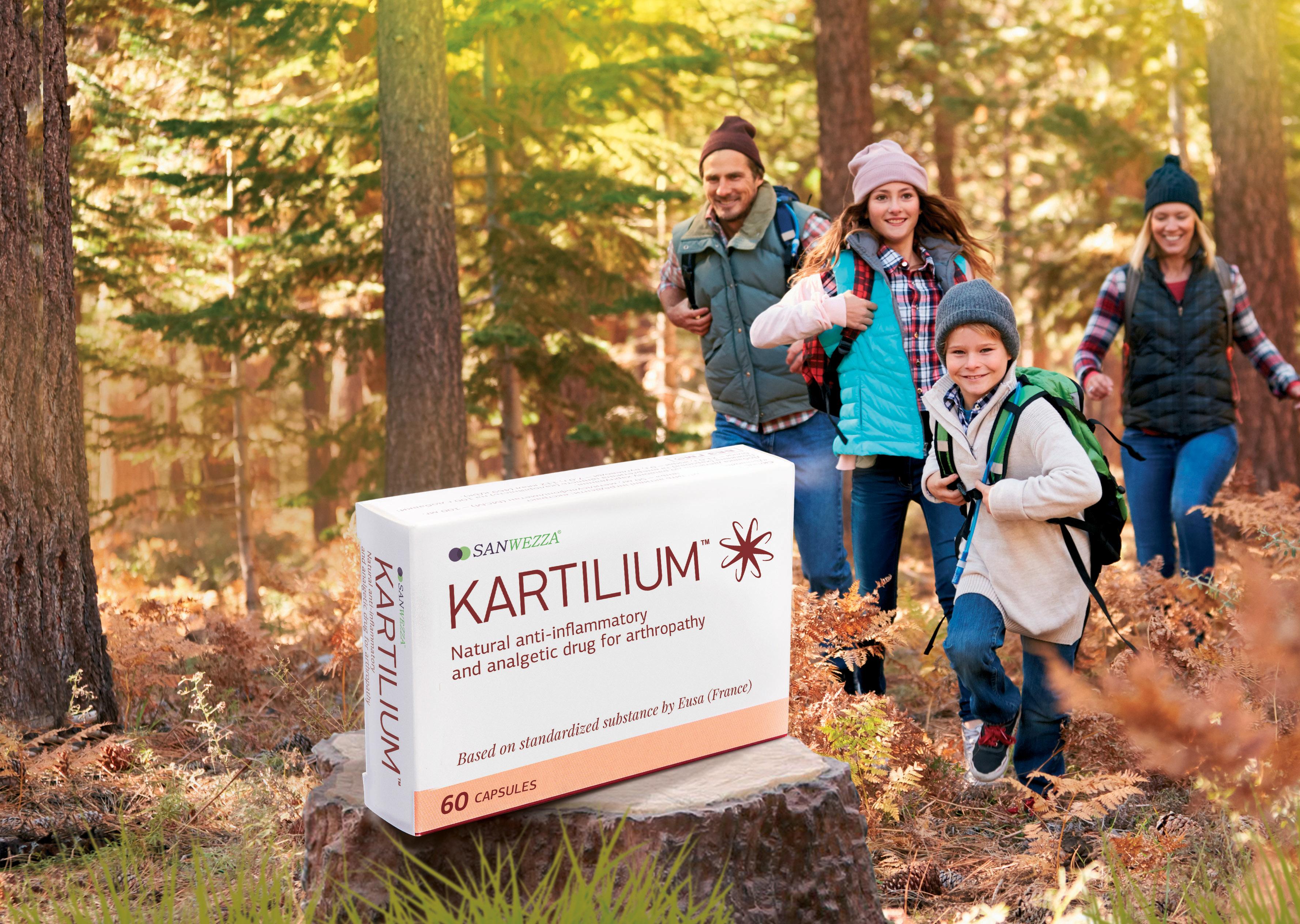 Дизайн фармацевтической упаковки для лекарства Картилиум, Kartilium pharmacy packaging design
