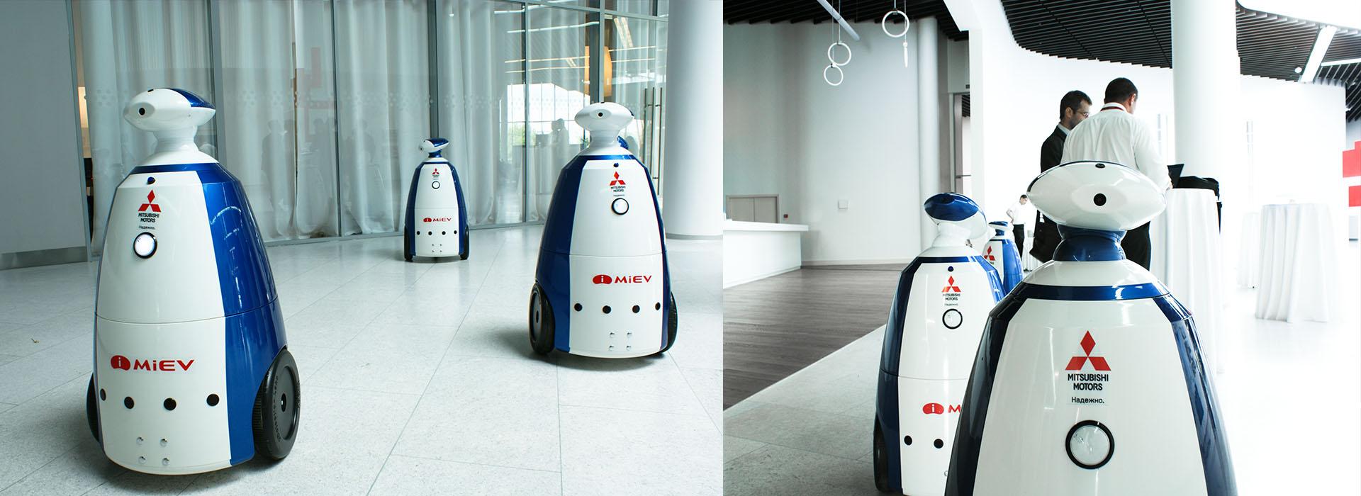 robotics production corporate identity, производитель робототехники логотип